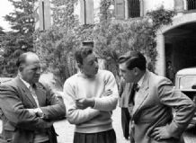 Reg Parnell - George Abecassis - Pat Griffith  1954 Mille Miglia
